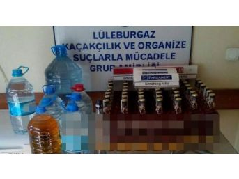 Lüleburgaz'Da Sahte Içki Operasyonu