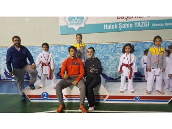 3. Hasandağı Karate Turnuvası'nda Kırşehir 3. Oldu