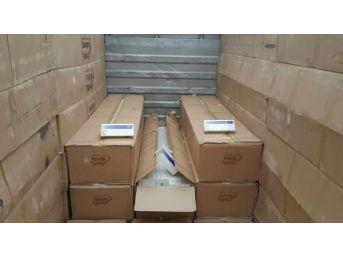 İzmit'te 124 Bin 900 Paket Gümrük Kaçağı Sigara Ele Geçirildi