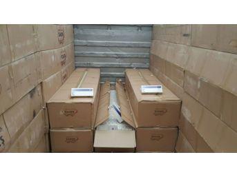 Kocaeli'de 124 Bin 900 Paket Kaçak Sigara Yakalandı