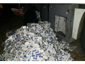 Tır'ın Yakıt Deposundan Kaçak Sigara Çıktı