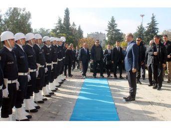 İçişleri Bakanı Soylu, Mardin Valiliğini Ziyaret Etti
