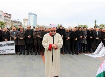 Halep'te Ölenler İçin Samsun'da Gıyabi Cenaze Namazı Kılındı