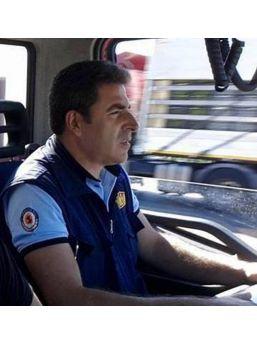 Yangına Giderken Trafik Kazasında Ölen Itfaiye Eri, Toprağa Verildi