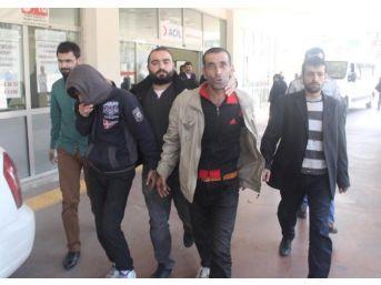 Şanlıurfa'da Uyuşturucu Ve Hırsızlığa 3 Gözaltı