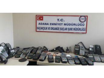 Adana'da Pos Tefecilerine Operasyon: 14 Gözaltı
