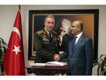 Genelkurmay Başkanı Akar Adana'da