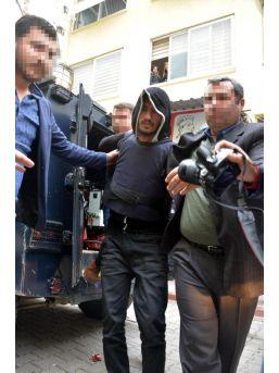 Polisi Şehit Eden Şüpheli Adliyeye Zırhlı Araçla Getirildi