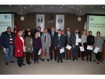 Uygulamalı Girişimcilik Eğitimini Tamamlayan 60 Kursiyere Sertifikaları Verildi