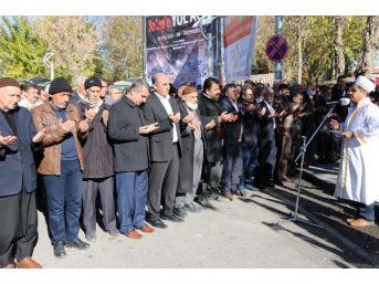 Adıyaman'da, Halep'teki Suriyeliler Için Gıyabi Cenaze Namazı