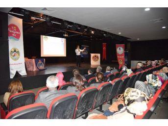 Alanya'da Kantin İşletmecilerine ' Gıda Hijyeni' Semineri