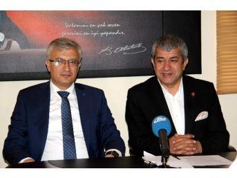 Cumhuriyet Başsavcısı Solmaz, Agc'yi Ziyaret Etti