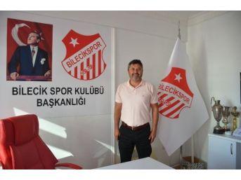 Bilecikspor Başkanı Cinoğlu, Kulübün Anahtarı Bilecik Valisi Süleyman Elban'a Vermeye Hazırlanıyor