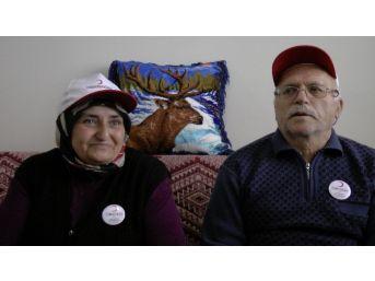 (özel Haber) 22 Tapusunu Kızılay'a Devreden Yaşlı Çift Konuk Evine Yerleşti