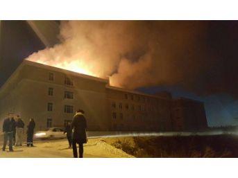 Edirne'de İmam Hatip Lisesinde Çıkan Yangın Korkuttu