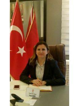 Ak Parti Eskişehir İl Kadın Kolları Başkanı Av. Ceyda Akşen'ın 5 Aralık Mesajı