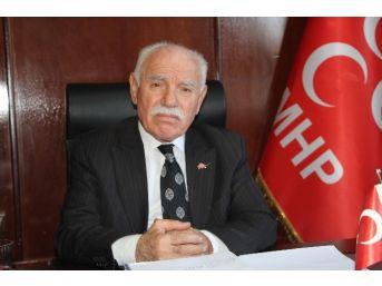 Mhp İl Başkanı Erdem'den Ağbaba'ya Tepki