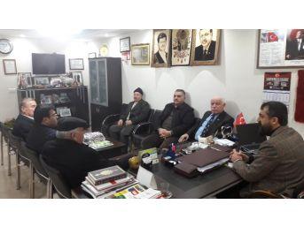 Mhp İl Başkanı Erdem'den Koyun Keçi Yetiştiricileri Birliği'ne Ziyaret