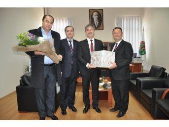 Başkan Şirin'den Baro Başkanı Arslan'a İade-i Ziyaret
