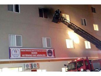 Mardin'deki Yurt Yangınına İlişkin Açıklama