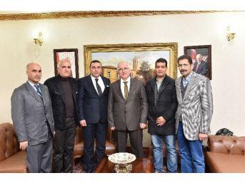 Oda Başkanlarından Vali Tuna'ya Ziyaret