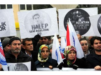 Halep Saldırıları Tokat'ta Protesto Edildi