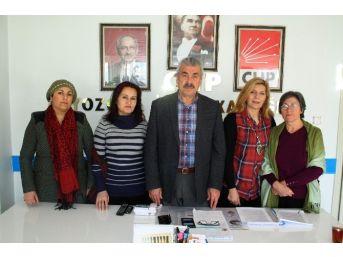 Chp'li Kadınlardan Dünya Kadın Hakları Günü Açıklaması