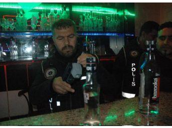 Adana'Da Asayiş Ve Kaçak Içki Uygulaması