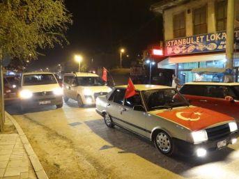 Bilecik'te Şehitler İçin Mevlit Okutulup Konvoy Düzenlendi