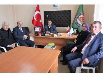 Başkan Konak'dan, Ziraat Odası'na Ziyaret