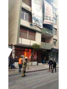 İzmir'in Göbeğinde Yangın Paniği