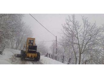 Zonguldak'ta 38 Köye Ulaşım Sağlanamıyor