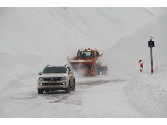 Ardahan'da Karla Mücadele Çalışması