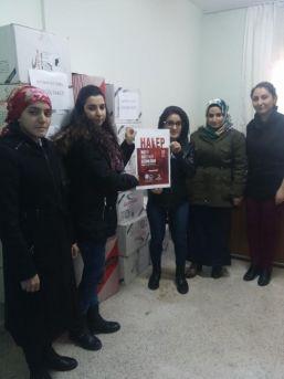 Batman'da Halep İçin Yardım Kampanyası