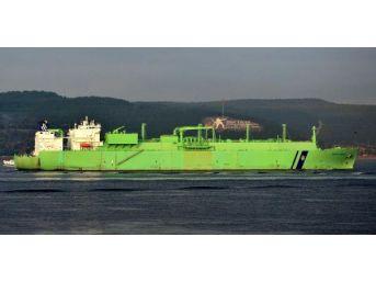Doğalgaz Tankeri Çanakkale Boğazını Kapattı