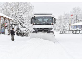 İzmir'De Kar Alarmı