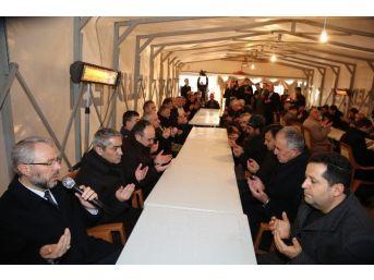 Başkan Büyükkılıç'tan Şehit Ailelerine Taziye Ziyareti