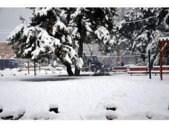 Mersin'in 2 Ilçesinde Okullara Kar Tatili