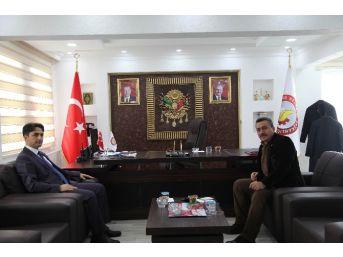 Kaymakam Erdoğan'dan Başkan Tutal'a İade-i Ziyaret