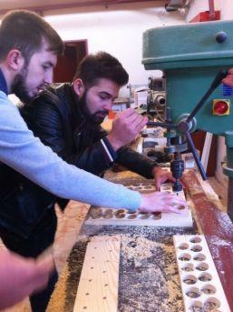 Çaycuma Myo Ahşap Oyuncak Atölyesi Sosyal Sorumluluk Projesine İmza Attı