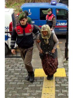 Komşusunu Bıçakla Yaralayan Kadın Tutuklandı