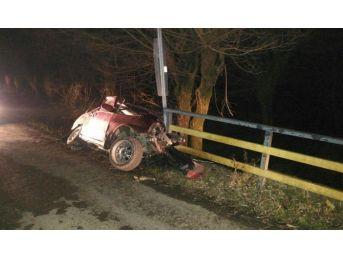 Zonguldak'da Trafik Kazası: 1 Ölü, 2 Yaralı