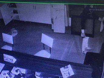 Spor Salonundan Hırsızlık Kamerada