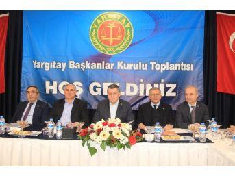 Yargıtay Başkanlar Kurulu Toplantısı Kazdağları'nda Yapıldı