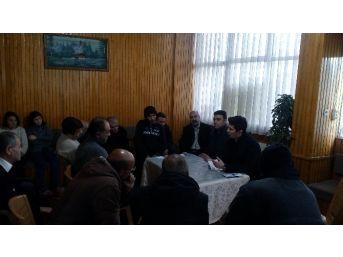 Denizli İşkur ''evsiz Vatandaşlar'' İle Buluştu
