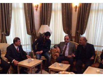 Irak Başbakan Yardımcısı Mutlak'tan Aslan'a Taziye Ziyareti