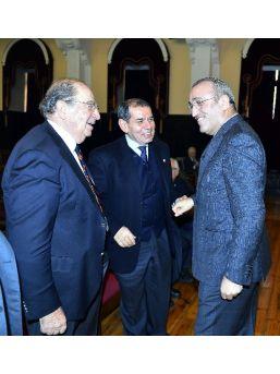 Galatasaray'da 25 Yılını Dolduran Üyeler Beratlarını Aldı