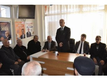 Bahşılı'da Sp'li 3 Belediye Meclis Üyesi Ak Parti'ye Geçti