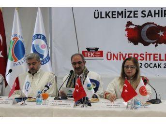 Üniversite Rektörlerinden 'teröre Karşı Ortak Bildiri'