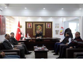 Beyşehir Kaymakamı Şahiner Ve Belediye Başkanı Özaltun'dan Ziyaret